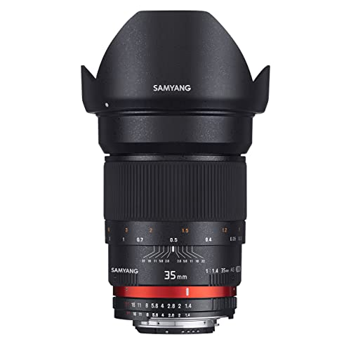 Samyang 35 mm / F 1,4 IF UMC ASPHERICAL Objectifs
