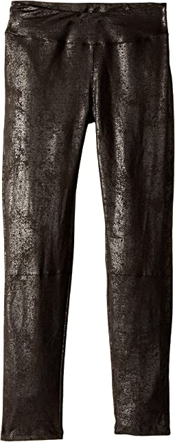 Splendid Littles - Metallic Coated Suede Leggings (Big Kids)