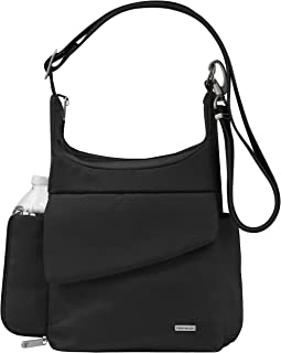 Anti-Theft Classic Messenger Bag, Black, One Size