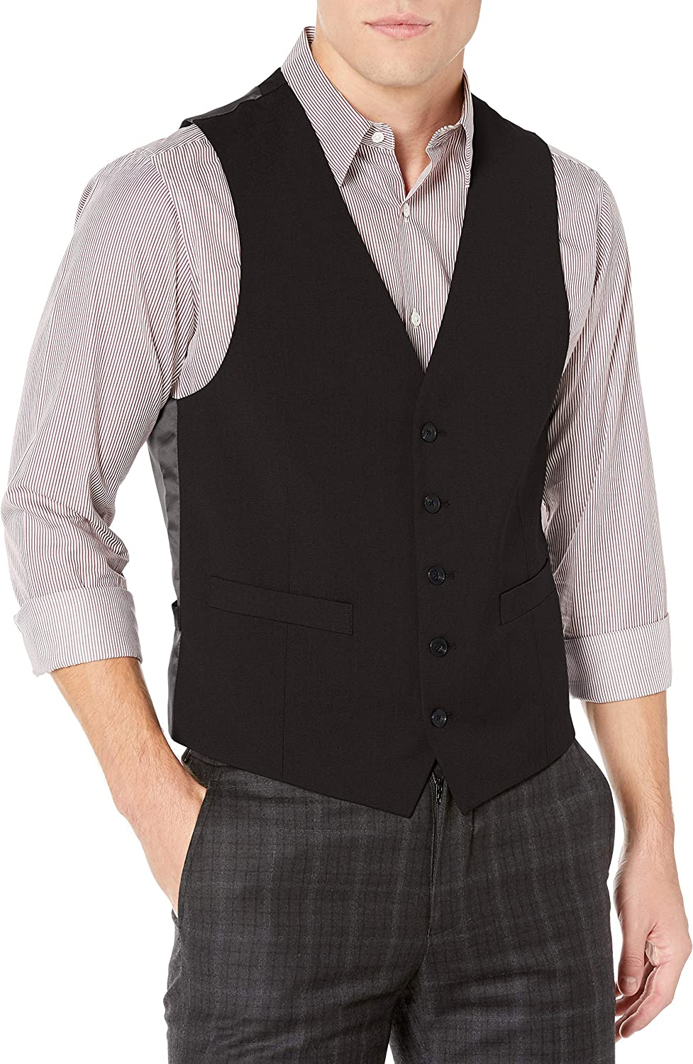 Unlisted by Kenneth Cole mens Suit Separate Vest