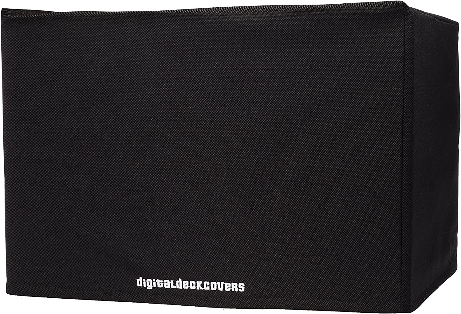 DigitalDeckCovers Printer Dust Cover for HP Photosmart 7510/7515 / 7520/7525 / Premium C310a Printers Protector [Antistatic, Water Resistant, Heavy Duty Fabric, Black]