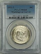 1952 S Washington Carver Half Dollar PCGS MS-64