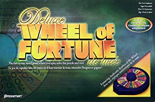 Best deluxe wheel of fortune board game Reviews