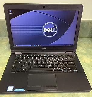 Dell Latitude E7270 Intel Core i5-6300U X2 2.4GHz 8GB 256GB SSD 12.5'' Win10,Black by Dell