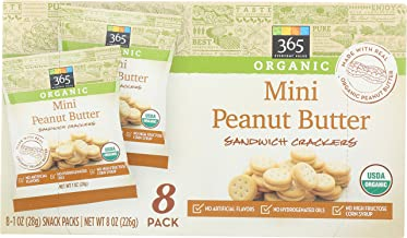365 Everyday Value, Mini Peanut Butter Sandwich Crackers, 8 ct