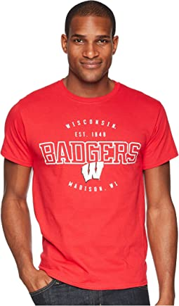 Wisconsin Badgers Jersey Tee 2