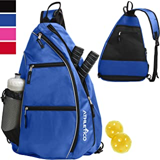 Athletico Sling Bag - Crossbody Backpack for Pickleball, Tennis, Racketball, and Travel for Men...