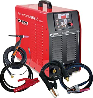 STAYER 1.741 soldadura, inverter, TIG, Rojo/Negro