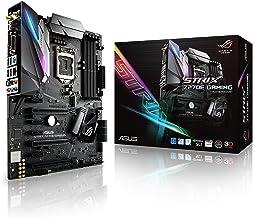 Asus ROG Strix Z270E Gaming - Placa Base para Gaming (4 x PCIe 3.0, chipset Z270, LGA 1151, 6 x SATA III, WiFi,HDMI, 6 x USB 3.0, Intel HD Graphics, DDR4-3866 MHz)