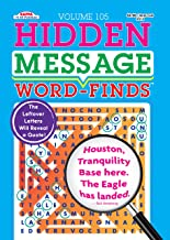 Hidden Message Word-Finds Puzzle Book-Word Search Volume 105