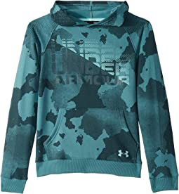 3196248259b1 Under armour kids ua camo big logo hoodie big kids realtree ap xtra ...