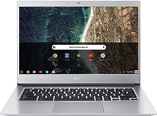 "Acer Chromebook 14"" FHD IPS, PQC N4200, 4Gb RAM , 64GB eMMC, Chrome, Silver, CB514-1H-P18N"
