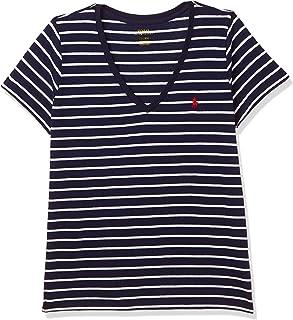 Polo Ralph Lauren Top For WOMEN, NVY/WHT XL