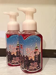 Bath & Body Works New York Big Apple Sparkler Foaming Hand Soap (Set of 2)
