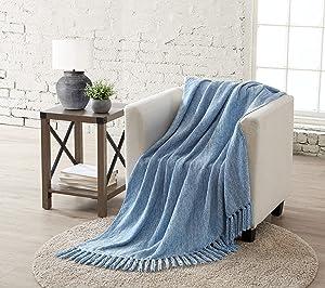 Tahari Home James Throw Blanket, 50