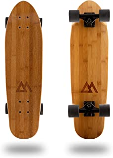 Magneto Mini Cruiser Skateboard Cruiser | Short Board | Canadian Maple Deck - Designed for Kids, Teens and Adults …