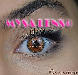 c9ba0b5720 Mysa Lens® Lente de contacto de color fantasía Crazy Lens Cosplay ojos miel  S3 –