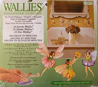 Wallies Wallpaper Cutouts 25/Pkg-Flower Fairies 6