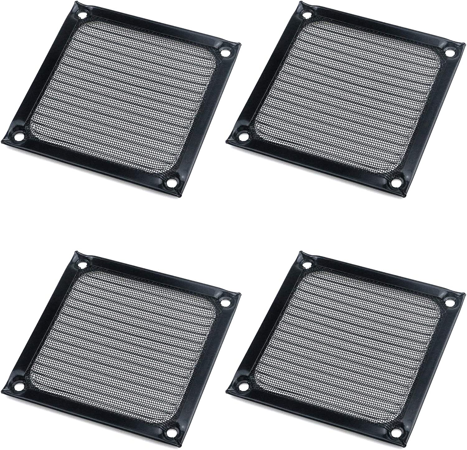 Semetall Computer Fan Limited time cheap New Orleans Mall sale Dust Filter Mesh PC Pack 80mm 4 F