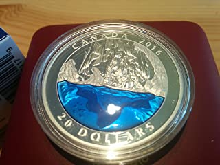 2016 CA EXCLUSIVE Masters Club Coin Series: COIN #3 Canada 1 oz Fine Silver Polar Bear with Blue Enamel - Mintage:4000 only $20 Mint State