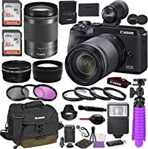 Canon EOS M6 Mark II Mirrorless Digital Camera (Black) EVF-DC2 Viewfinder Kit with Canon EF-M 18-150mm is STM Lens + Canon...