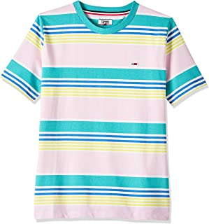 Tommy Jeans Women's Tjw Summer Recycled Stripe T-Shirt