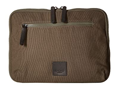 KNOMO London Fulham Knomad 10.5 Tech Organiser (Forest Green) Bags