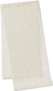 オーエ CN 絹タオル ホワイト 25×100cm
