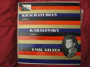 Khachaturian Conducts Khachaturian Piano Concerto in D Flat Major / Kabalevsky Conducts Kabalevsky Piano Concerto No.3, Op.50 (Youth)