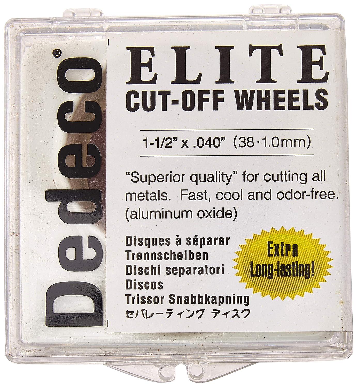 Dedeco 5511 Elite Aluminum Oxide Separating x 0.04 2