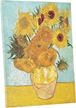 Niwo Art - Twelve Sunflowers, by Vincent Van Gogh - Oil Painting Reproductions - Giclee Canvas Prints Wall Art for Home Decor, Stretched and Framed Ready to Hang (16 x 20 x 0.75 Inch)