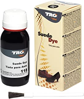 TRG Suede Dye For Nubuck and Suede Shoes Boots Bags, With Paintbrush