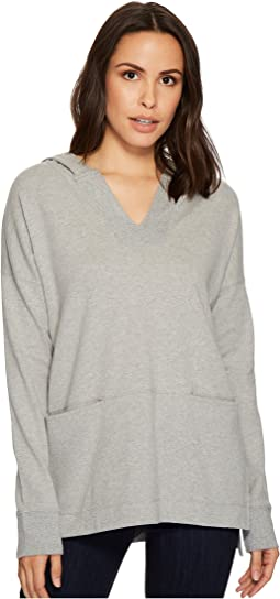 Soft as Cashmere Knit Boxy Pullover Hoodie