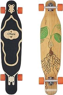 Loaded Boards Fattail Bamboo Longboard Skateboard Complete