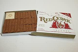 Best cedar incense cones Reviews