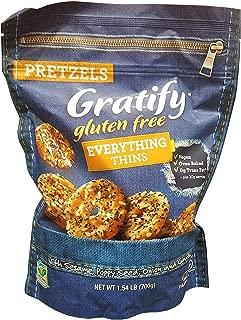 gratify gluten free everything pretzels