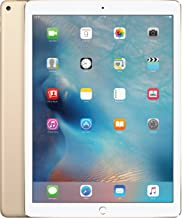 Apple iPad Pro 12.9in Tablet (256GB Wi-FI, Gold)(Renewed)