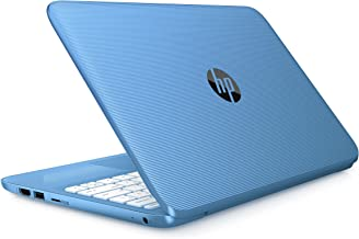 HP Stream- 11.6inch Diagonal HD SVA Anti-Glare, Intel Celeron N3060 Up to 2.48GHz, 4GB Ram, 32GB SSD, Intel HD Graphics, Win 10-Blue (Renewed)