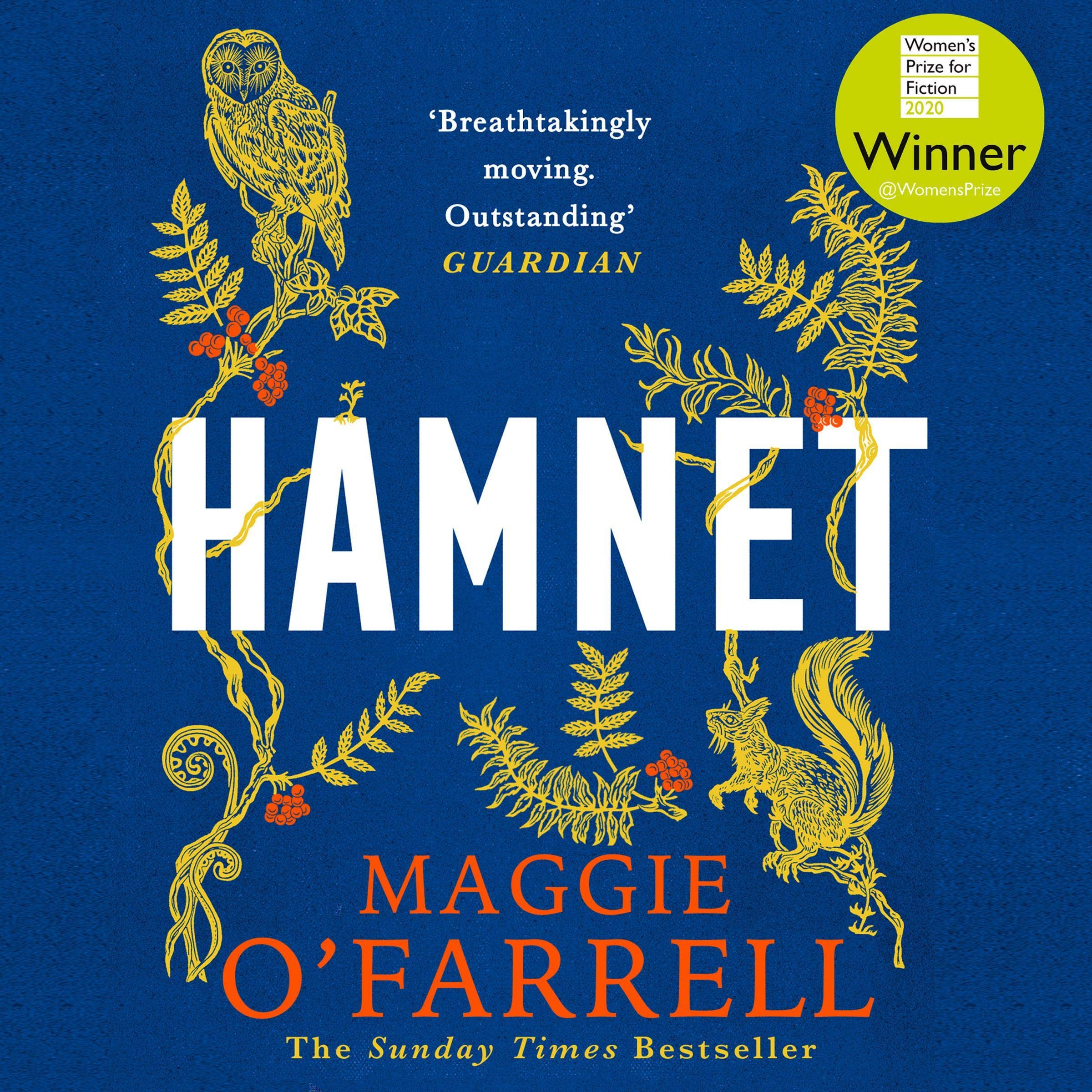 Cover image of Hamnet by Maggie O'Farrell