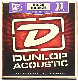 Dunlop Dunlop-DAB22-80/20 Bronze Extra Medium Light Single G String Acoustic Guitar.22 (DAB22)