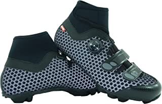 LUCK Zapatillas de Ciclismo para Invierno Winter MTB, con Suela de Carbono SHD, y Sistema rotativo de precisión acompañada...