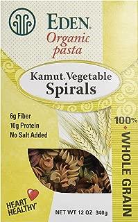 Eden Foods Organic Kamut Vegetable Spirals, 12 oz