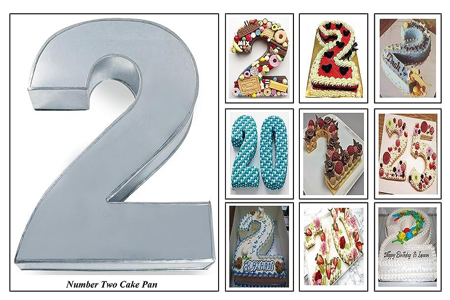 EURO TINS Large Number Wedding Birthday Anniversary Baking Cake Pan 14