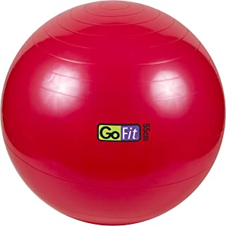 Exercise Stability Ball by GoFit Great for Balance,  Fitness,  Yoga,  Core Strength