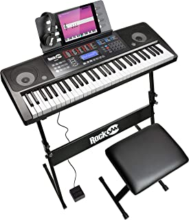 RockJam RJ761 61 Key Electronic Interactive Teaching Piano K
