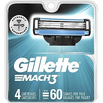 Gillette Mach3 Men's Razor Blade Refills, Count, Basic
