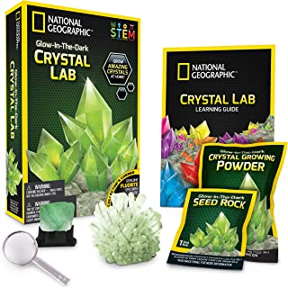 Glow-in-the-Dark Crystal Growing Kit - 3 Additional Color Choices Available!