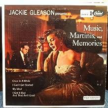 JACKIE GLEASON MUSIC MARTINIS & MEMORIES 45 rpm single