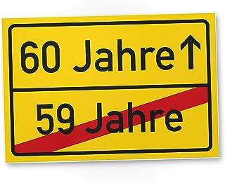DankeDir! 60 Jahre (59 Jahre vorbei) - Kunststoff Schild, Ge