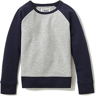 LOOK by crewcuts Sudadera de Cuello Redondo Raglán. Fashion-Sweatshirts Niños